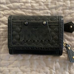 Juicy couture gray leather wallet